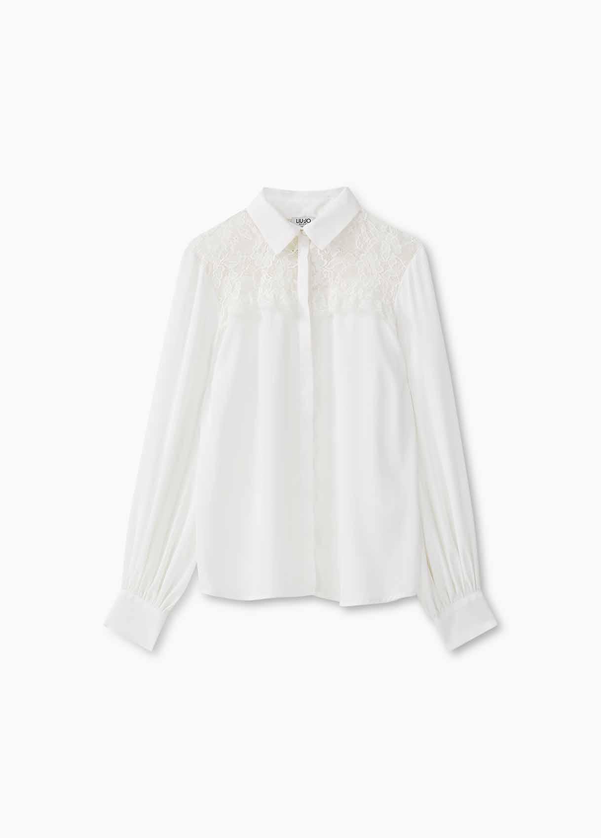 Blusa feminina branca Liu Jo