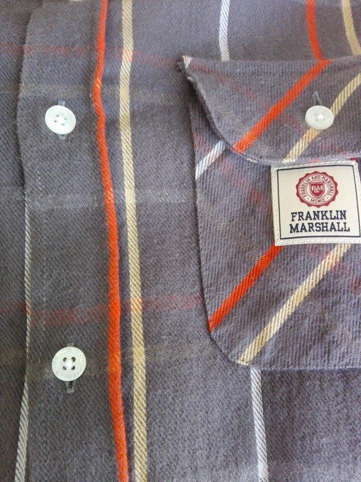 Camisa flanela Franklin & Marshall