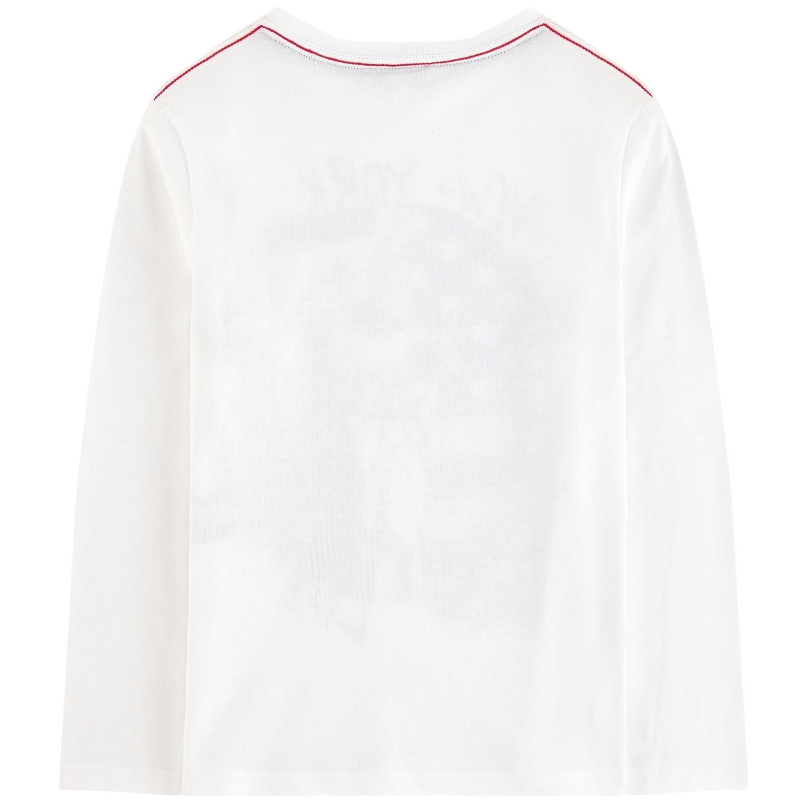 Camisola manga comprida branca 3pommes