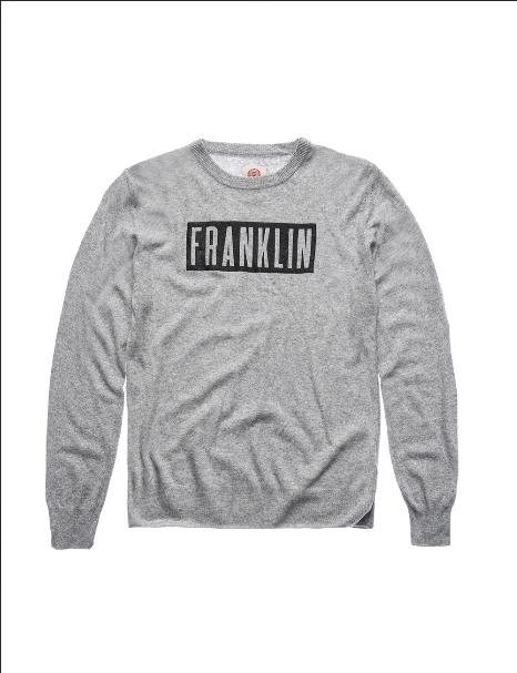 Pullover masculino preto Franklin & Marshall