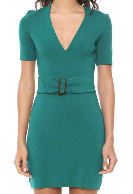 Vestido feminino verde Colcci