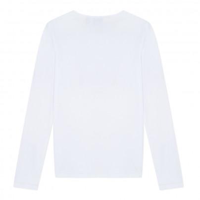 Camisola branca de adolescente Beckaro