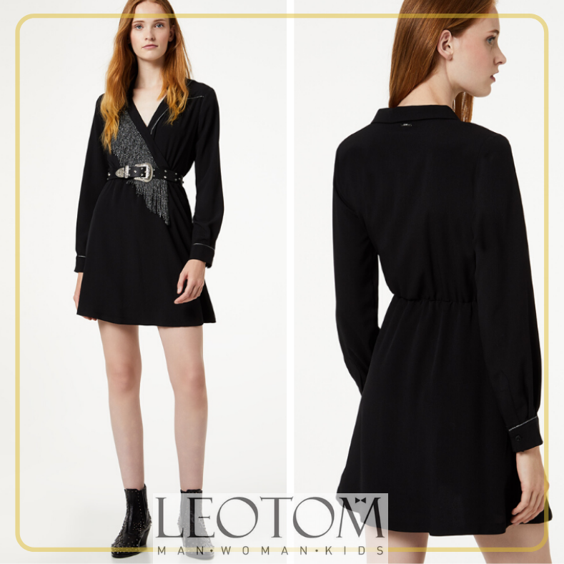 Vestido preto feminino Liu Jo