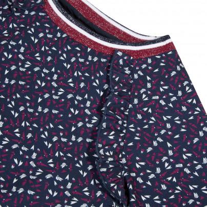 Blusa fluída de adolescente com padrão Beckaro