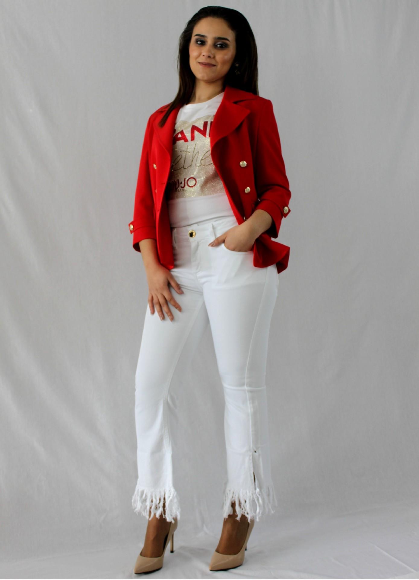 Blazer vermelho Liu Jo