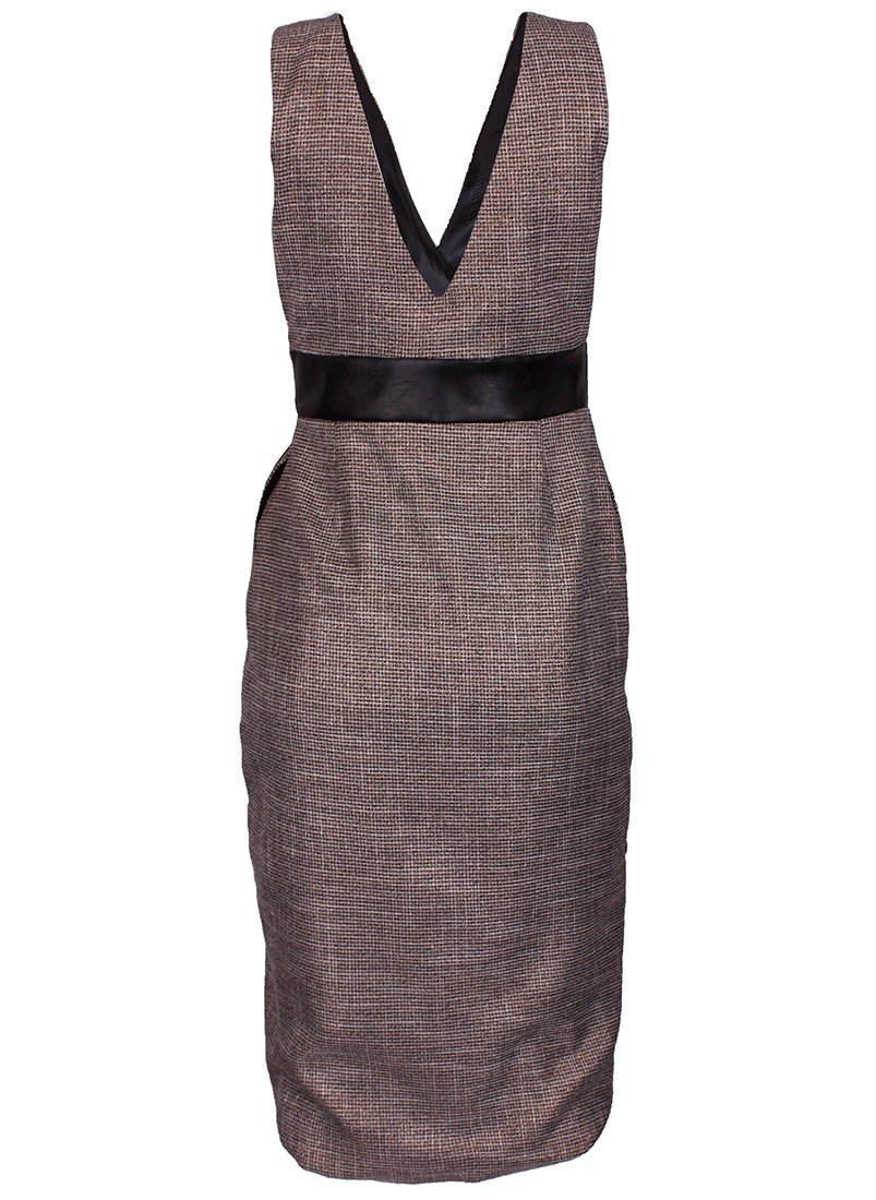 Vestido feminino efeito drapeado Sahoco