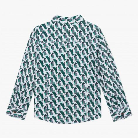 Camisa infantil estampada Catimini