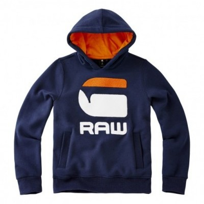 Sweat de adolescente azul marinho G-Star Raw
