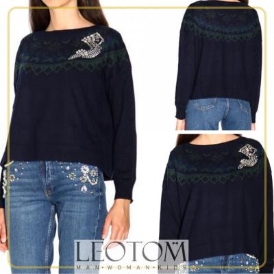 Camisola de malha feminina Liu Jo