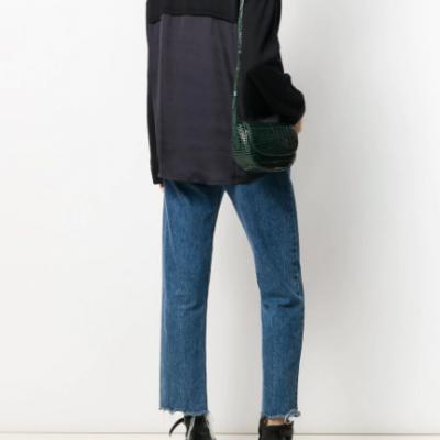 Camisola de gola alta feminina Liu Jo