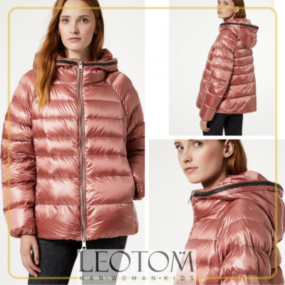 Blusão feminino rosa curto Liu Jo