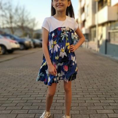 Vestido infantil fluído Catimini