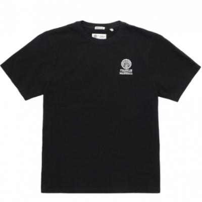 T-shirt preta masculina Franklin & Marshall