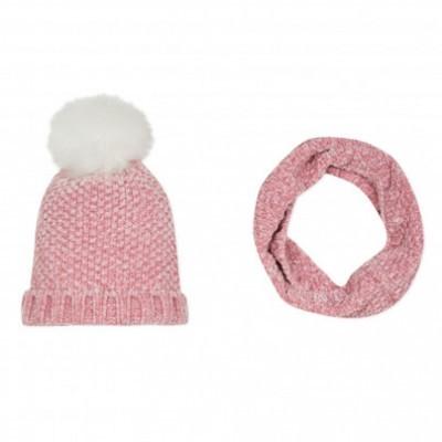 Gorro + gola rosa infantil 3pommes