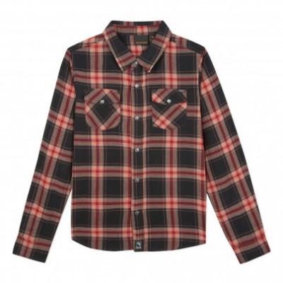 Camisa de adolescente bordô Beckaro