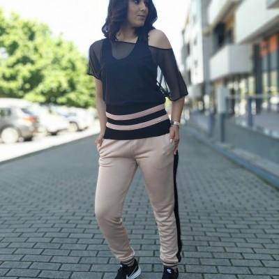 Calça feminina desportiva rosa Liu Jo