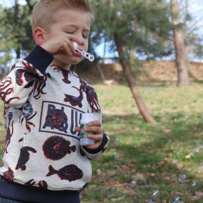 Sweat infantil menino com capuz Catimini