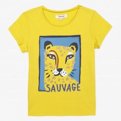 T-shirt amarela Catimini