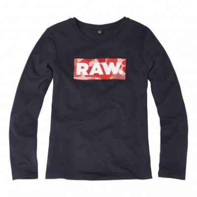 Camisola azul marinho G-Star Raw