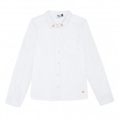 Camisa branca infantil 3pommes