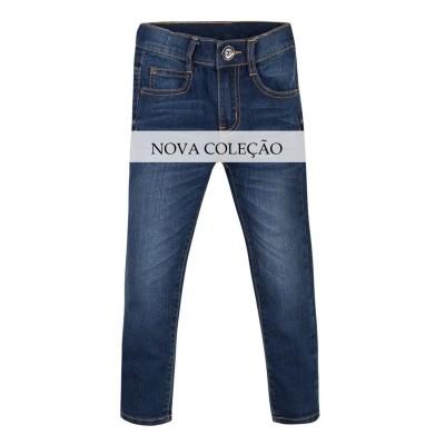 Calças jeans skinny com reguladores 3pommes