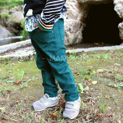 Calça infantil verde Catimini