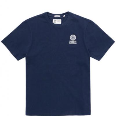 T-shirt azul marinho masculina Franklin & Marshall