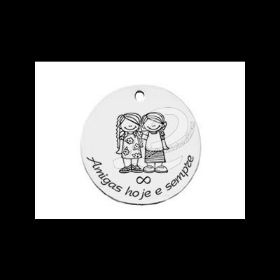 Medalha Aço