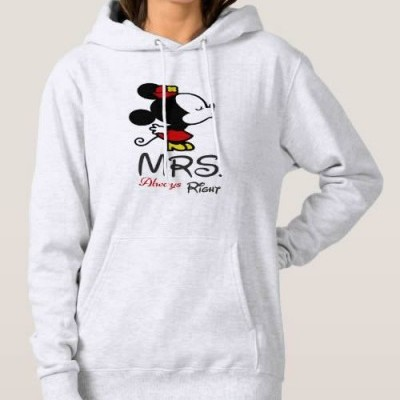 Sweatshirt Grossa c/ Capuz - Minnie, MRS. always Right