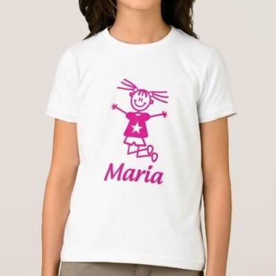 T-shirt Menina c/ Nome