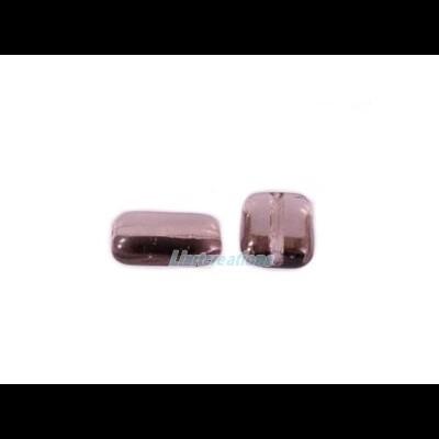 Conta Rectangular Lilás 12x8mm