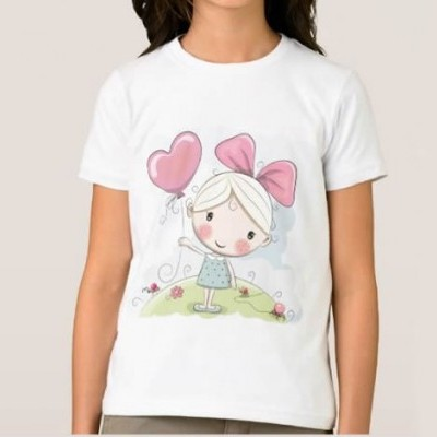 T-shirt Menina c/ Balão