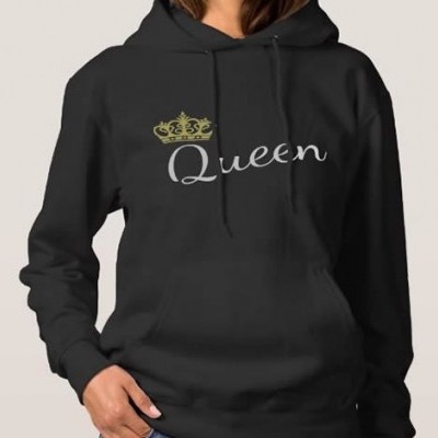 Sweatshirt Grossa c/ Capuz Queen