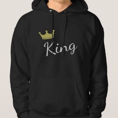 Sweatshirt Grossa c/ Capuz King