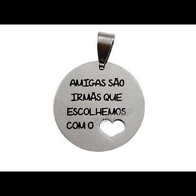 Medalha em Aço Inoxidável