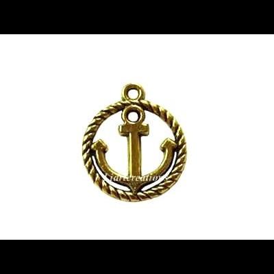 Medalha c/ Âncora 20x16mm