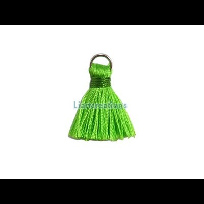 Pompom  c/ Argola Verde Alface