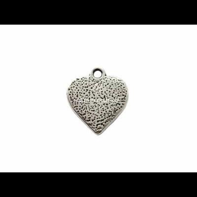 Pendente Coração c/ Pontinhos 16x15mm