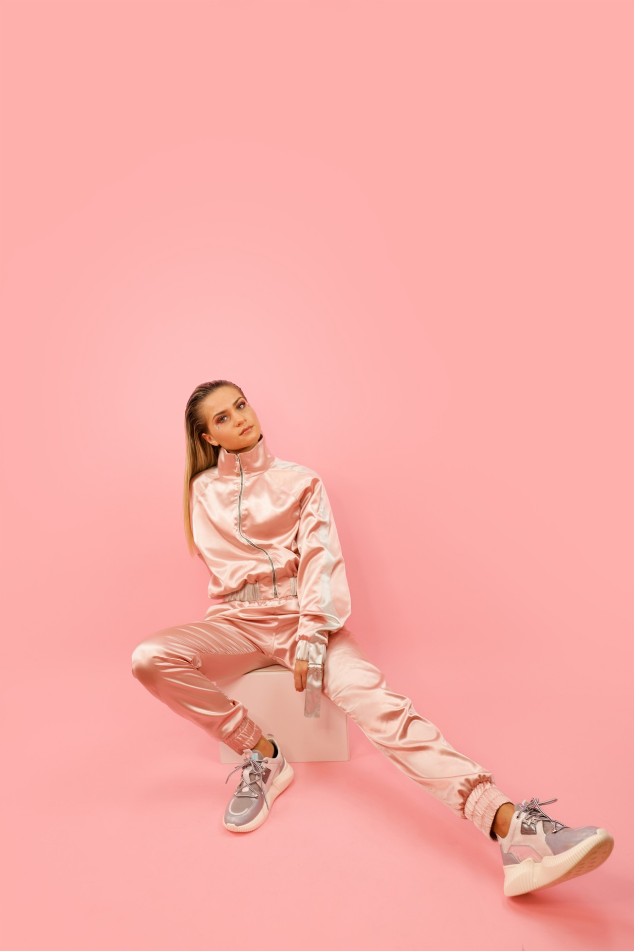 PINK BABY TRACKSUIT