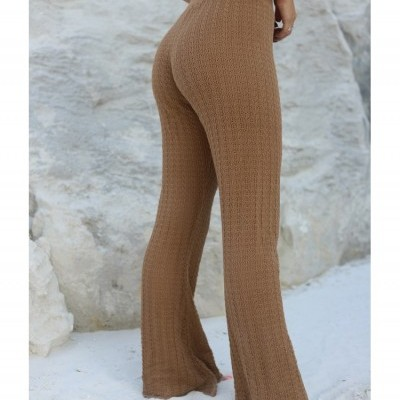 CARAMEL TROUSERS