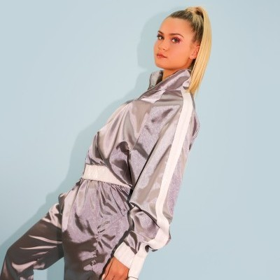 SILVER TRACKSUIT