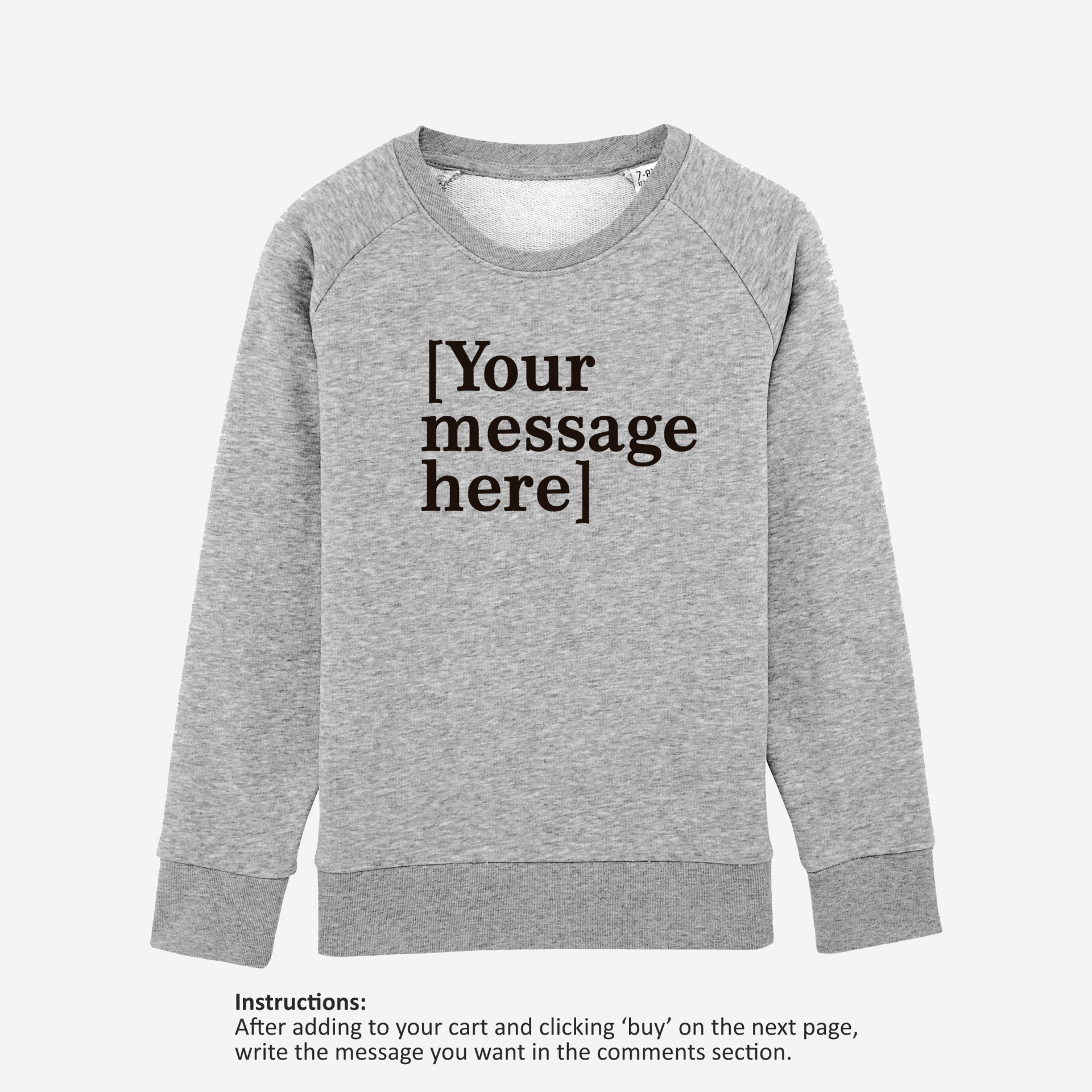 Design Your Own - Boys & Girls Sweatshirt