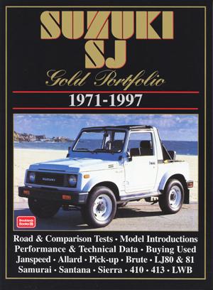 Suzuki SJ Gold Portfolio 1971-97