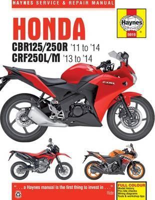 Honda CBR125R, CBR250R & CRF250L/M 2011-14