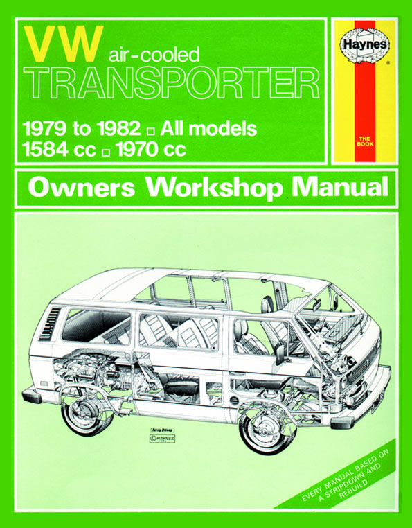 Volkswagen Transporter Air-Cooled Engine 1979-82