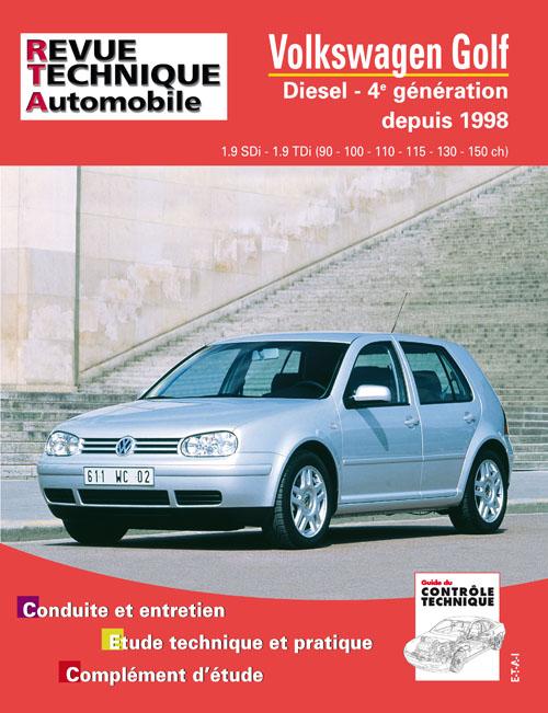 Volkswagen Golf IV SDI, TDI 1998-03 (RTA622)