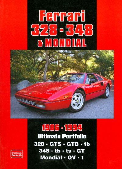 Ferrari 328,348 Mondial Ultimate Portfolio 1986-94
