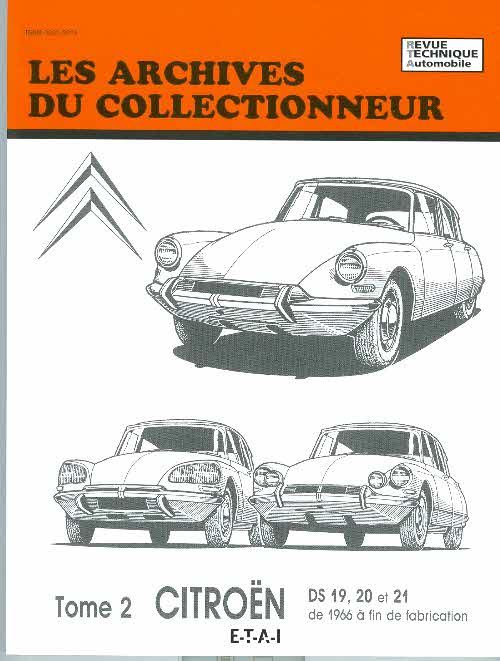 Citroen DS 19,20,21 dpuis 1966...fin fabric (AC31)
