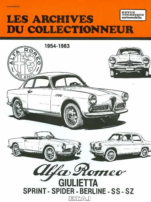 Alfa Romeo Giulietta 1954-63 (AC28)