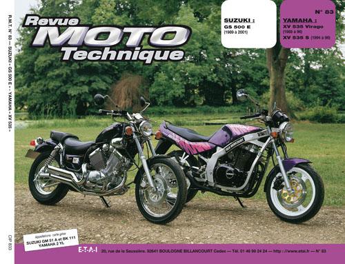 F083 Suzuki GS500 89-01 Yamaha Virago 553 1988-96